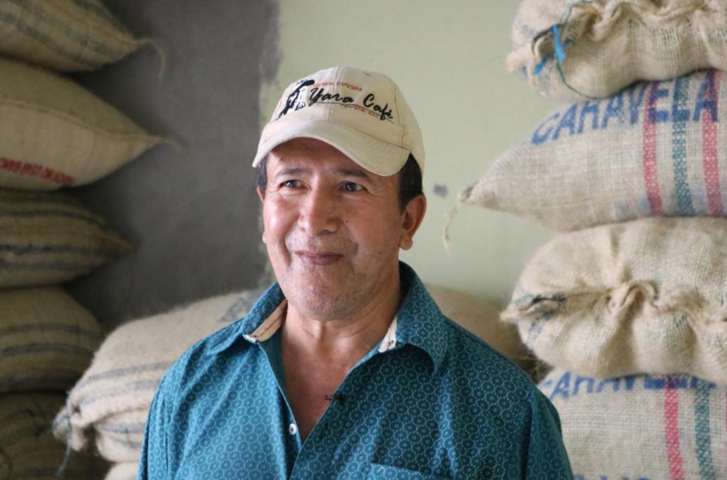Productor de café especial de La Plata Huila